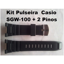 Kit Pinos Pulseira Casio Sgw-100 Similar Casio Sgw100