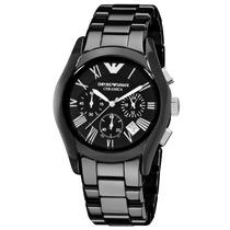 Relógio Emporio Armani Ar1400 Ceramica Com Caixa E Manual