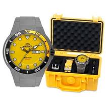 Relógio Orient Seatech Mergulho 500m 469ti003 Amarelo - 2015