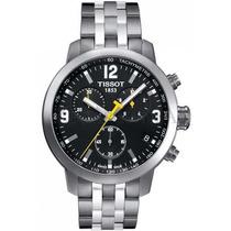 Relógio Tissot Prc200 - Prc 200 - Original Aço F/ Preto