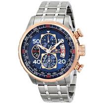 Relógio Invicta Aviator Tritnite 17203 Aço Deth Ban Ouro Eua