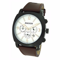 Relógio Magnum Dual Time Ma34512d - Garantia E Nf