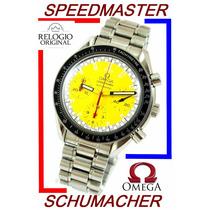 Omega Speedmaster Schumacher Amarelo Revisado Autêntico!