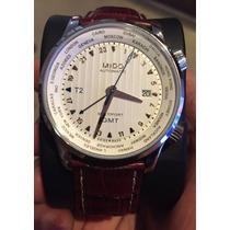 Relógio Mido Automático Multifort Gmt