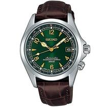 Relógio Seiko Alpinist Sarb017 Verde Automatico Japan