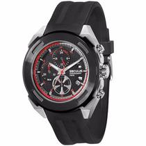 Relógio Masc Seculus Chonograph 50016gpsspu1 Analogico 10atm