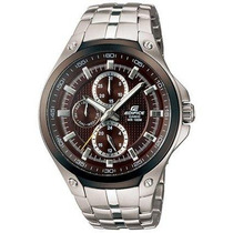 Relógio Masculino Cásio Edifice Ef-326d-5av Prata