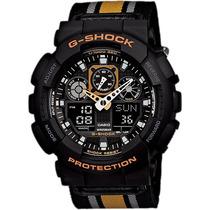 Relógio Casio G-shock Ga-100mc-1a4dr Revenda Autorizada
