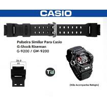 Pulseira Casio G-9200 Gw-9200 G-shock Riseman Similar