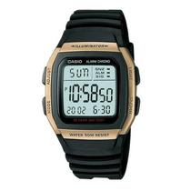 Relogio Casio W-96h 9av Wr-50m Hora Dual Alarme Cronometro