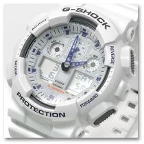 Relógio Casio G-shock Ga 100a-7adr - 100% Original