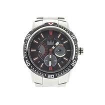 Relógio Dumont Analógico Preto Com Vermelho Se20110v 12 X S/
