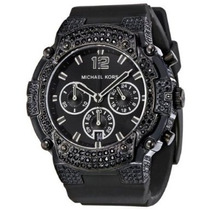 Relógio Feminino Michael Kors Gemma Black Cronógrafo Mk5510