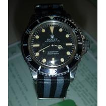 Rolex Submariner Modelo 5513 No Date Ano 1966 Original
