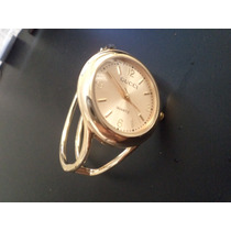 Relógio Quartz Gucci Feminino Bracelete Dourado