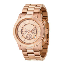 Relógio Michael Kors Mk8096 Rose Gold Original