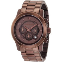 Relógio Michael Kors Mk8204 Brown Chocolate - Completo