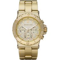 Relógio Michael Kors Mk5463 Dourado Catraca Pronta Entrega