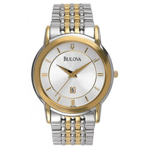 Relógio Bulova 98h48 Misto Classic Slim 12 X Sem Juros!