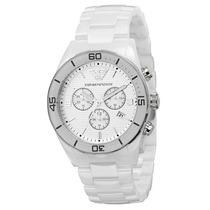 Relógio Emporio Armani Ar1424 Cerâmica Na Caixa Frete Grátis