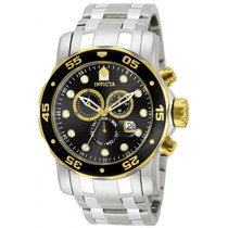 Relogio Invicta 80039 Pro Diver Scuba Swiss Chrono Black