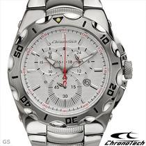 Relógio Chronotech Ct.7922m/1m Cronometro Skeleton Invicta