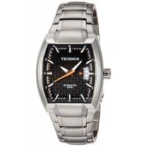 Relógio Technos Masculino Pulseira De Aço Quadrado 2115cg/1p