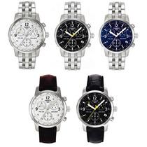 Relógio Tissot Prc200 - Prc 200 Fundo Preto / Branco / Azul