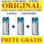 3 Filtros Latina Original Refil 3 Elementos Com Frete Grátis