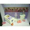 Porta Maternidade Quarto Miniatura