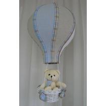 Balão Luminaria Lustre Luz Teto Urso Bebê Menino Menina