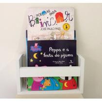 Prateleira Para Livros Infantil 30x10x15