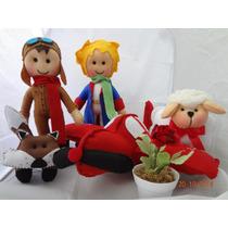 Pequeno Príncipe - 5 Peças Em Feltro - Para Festas Infantis