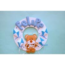 Enfeite Porta De Maternidade Urso E Pipas Felipe