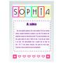 Arte Digital Para Quadro - Sophia Com Significado 21x29,7