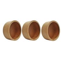 Trio De Nicho Redondo Os Três 30x30x10 - Mdf