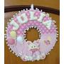 Guirlanda Ursinha Porta Maternidade Enfeite Feltro Gl032