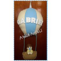 Enfeite De Porta Maternidade Balão Em Feltro