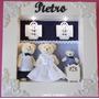 Porta Maternidade Família Urso Com Led...