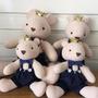 Família De Ursos Para Decoração - Ursos Para Festas