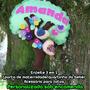Enfeite Porta De Maternidade, Personalizado Em Feltro