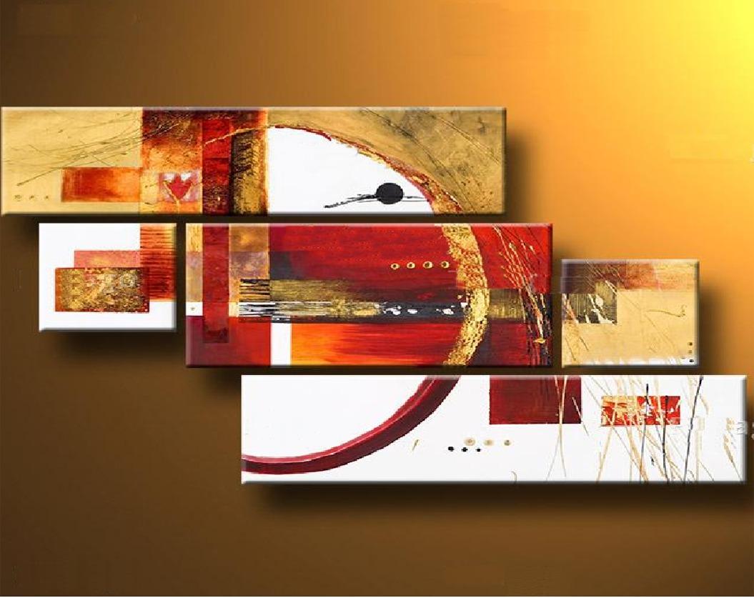 Oleo sobre tela abstratos