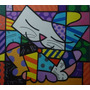 Releitura Romero De Brito Dona Gata Tam 80x90 Painel