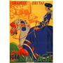 Mulher Cavalo Animal Malaga Espanha Poster Repro