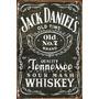 Quadro Decorativo Tema: Jack Daniel
