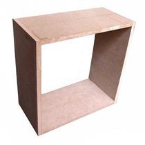 10 Nichos 100% Mdf 15mm Cada Cubo Decorativos Nicho Fabricam