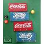 Quadro Porta-chaves Coca-cola Coke Madeira De Pallet Retrô