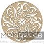 Mandalas Em Mdf Cru - 30x30 Cm - Escultura De Parede