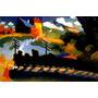 Arte Abstrata Trem De Ferro Pintor Kandinsky Tela Repro