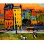 Arte Abstrata Munique Pintor Kandinsky Grande Tela Repro